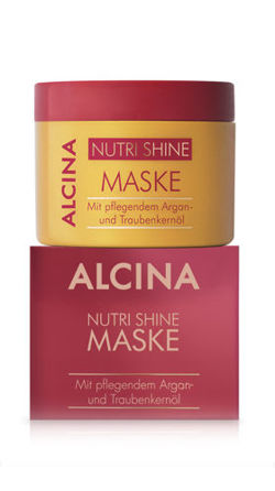 Maska do włosów ALCINA Nutri Shine 200 ml